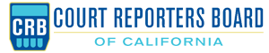 Court Reporters Board Website Template logo